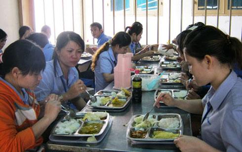 Bắc Ninh: Đảm bảo thức ăn cho công nhân tại các Khu công nghiệp